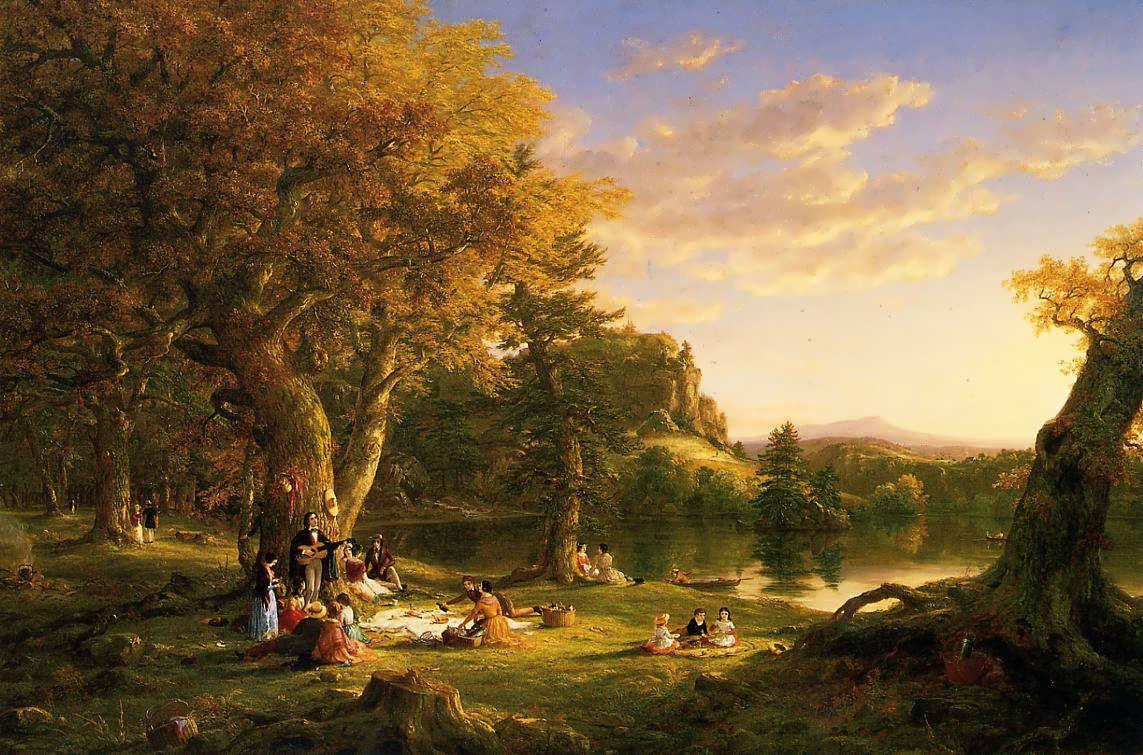 托马斯·科尔 Thomas Cole - 水木白艺术坊 - 贵阳画室 高考美术培训
