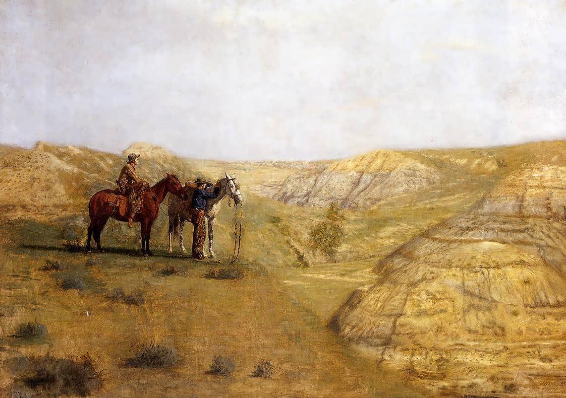 ThomasEakins-CowboysintheBadlands1