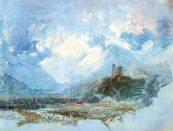 Turner-DolbadernCastle