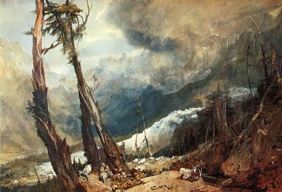 Turner-GlacierandSourceoftheArveronGoingUptotheMerdeGlace
