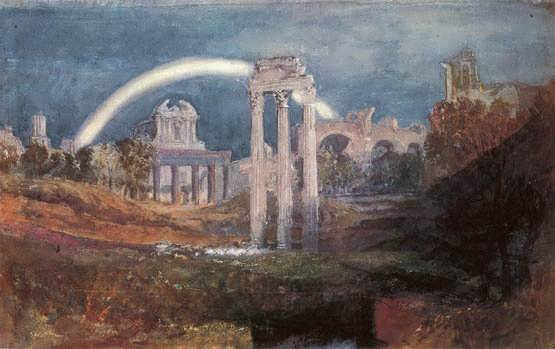 Turner-Rome-TheForumwithaRainbow