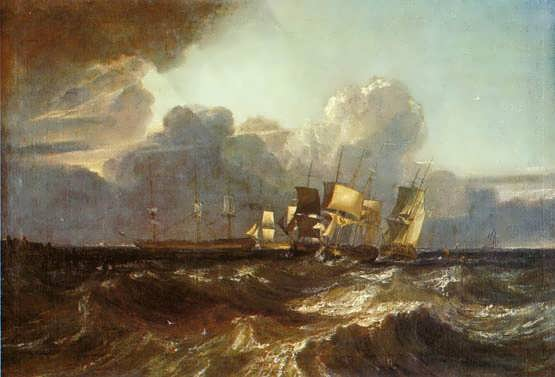 Turner-ShipsBearingUpforAnchorage