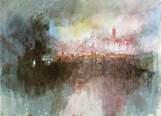 Turner-TheBurningoftheHousesofParliament