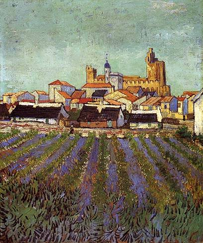 VanGogh-ViewofSaintes-Maries1