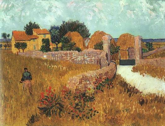 Van_Gogh_Vincent_Farmhouse_in_Provence_1888
