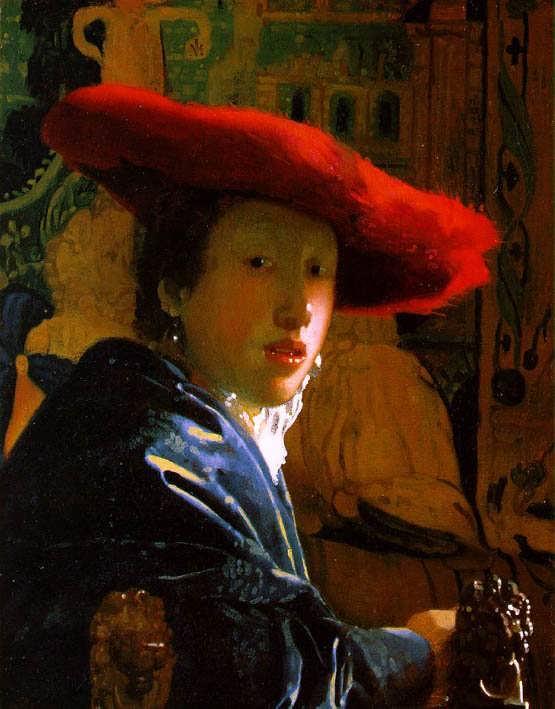 Vermeer-TheGirlwiththeRedHat