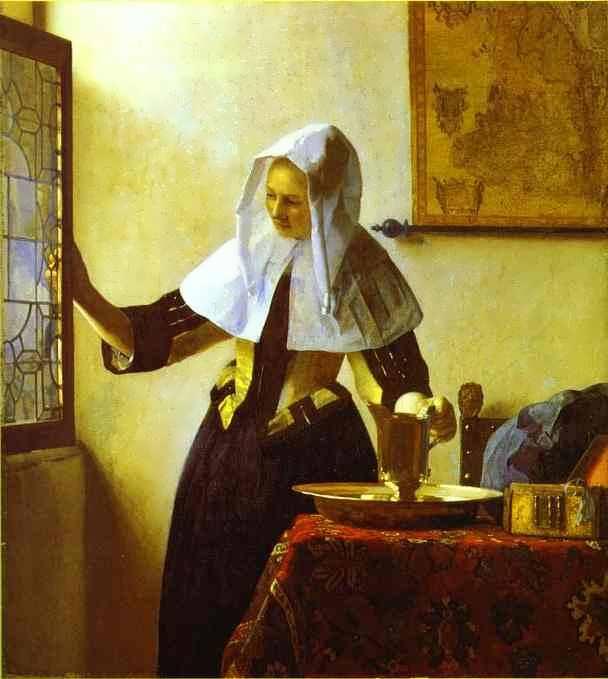 Vermeer-Womanwithawaterjug