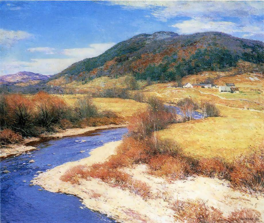 WillardLeroyMetcalf-IndianSummerVermont