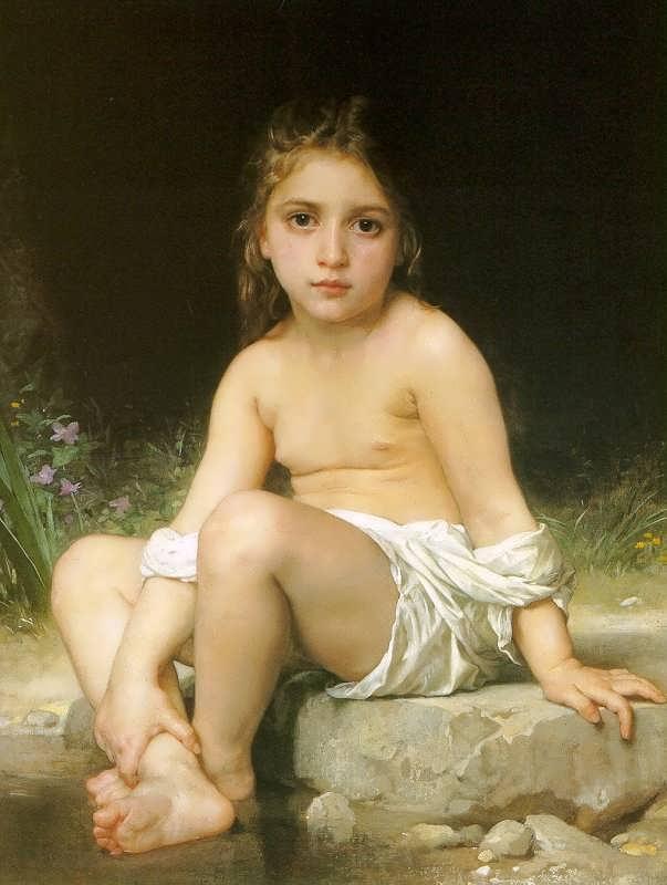 WilliamBouguereau-ChildatBath