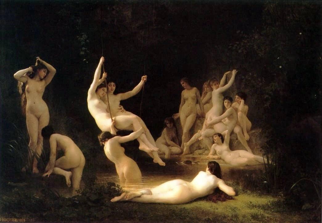 WilliamBouguereau-LanympheeakaTheNymphaeum