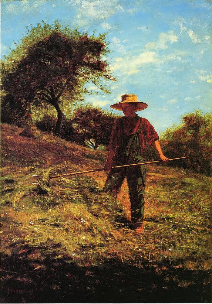 WinslowHomer-Haymaking1