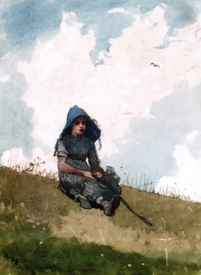 WinslowHomer-LittleShepherdess1