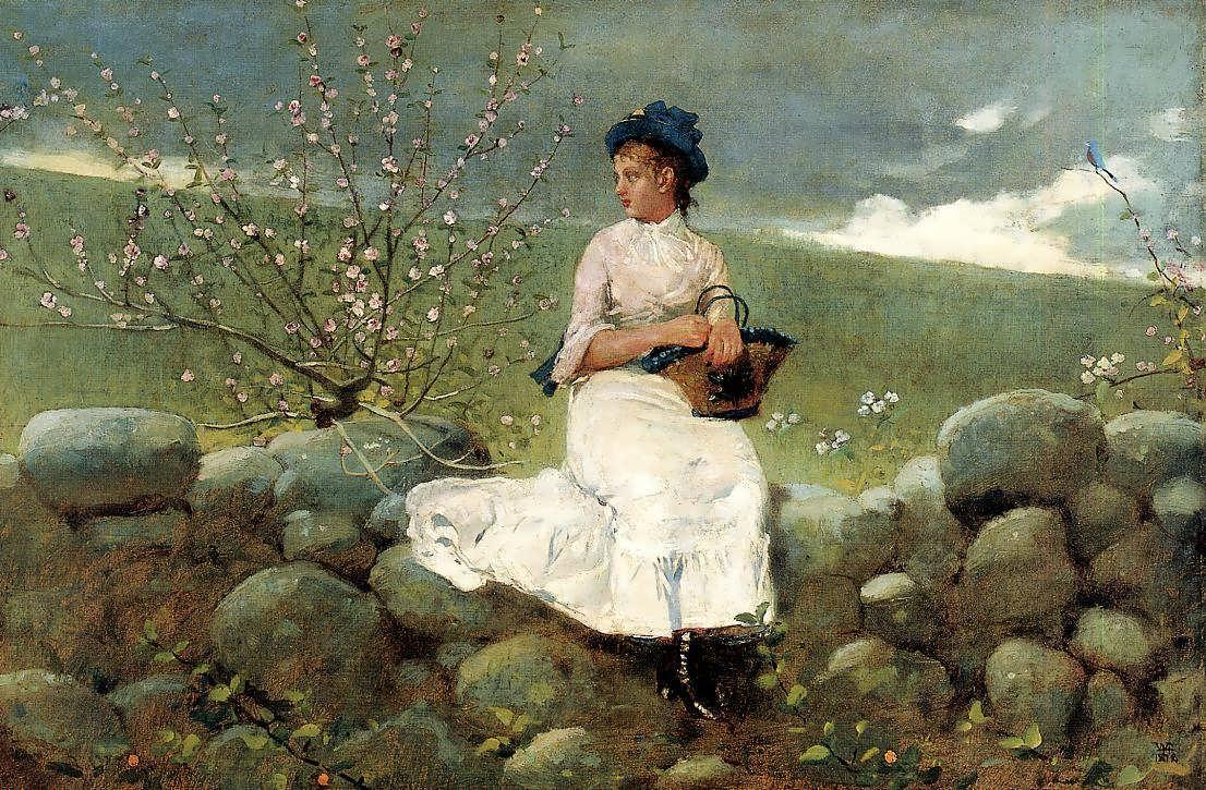 WinslowHomer-PeachBlossoms2