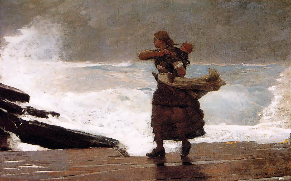 WinslowHomer-TheGale1