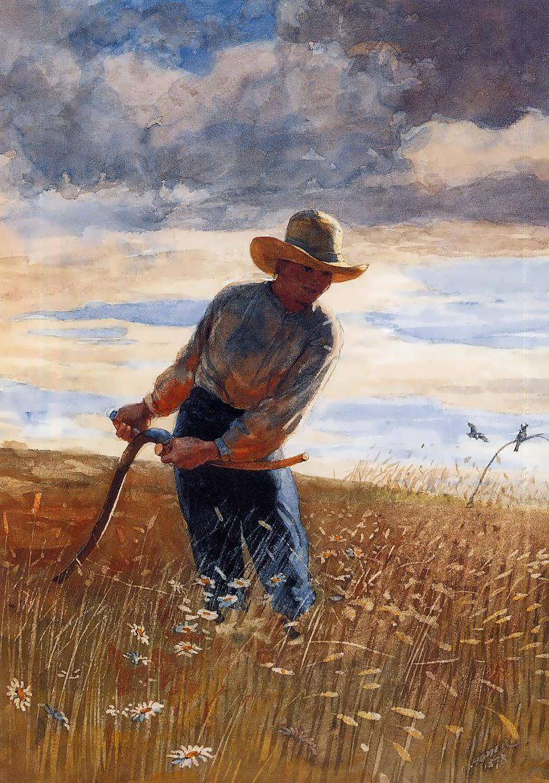 WinslowHomer-TheReaper1