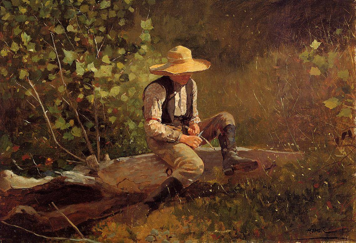 WinslowHomer-TheWhittlingBoy1