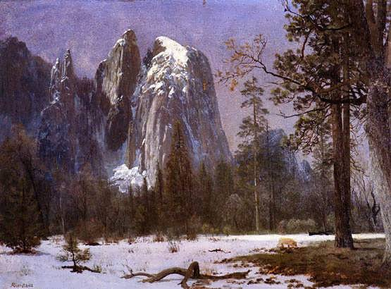 bier-CathedralRocksYosemiteValleyWinter