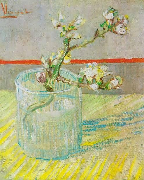 blossommingalmondbranchvangogh
