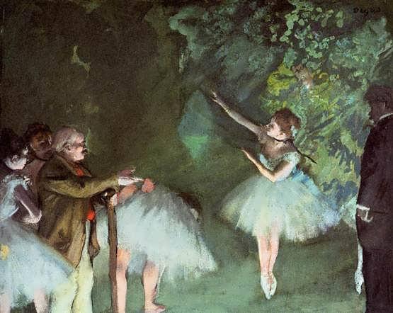 degas-BalletRehearsal