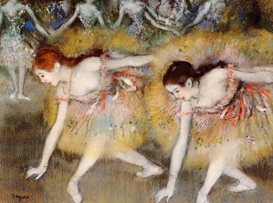 degas-DancersBendingDown