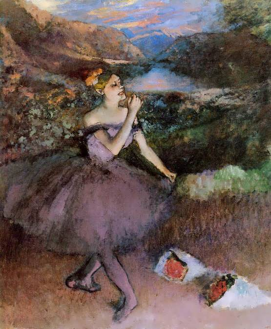 degas-DancerwithBouquets