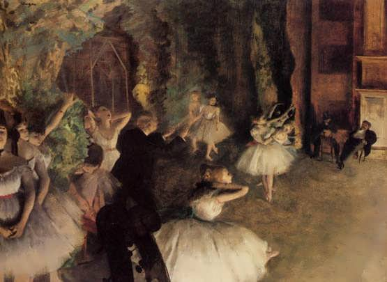 degas-TheRehearsaloftheBalletonState
