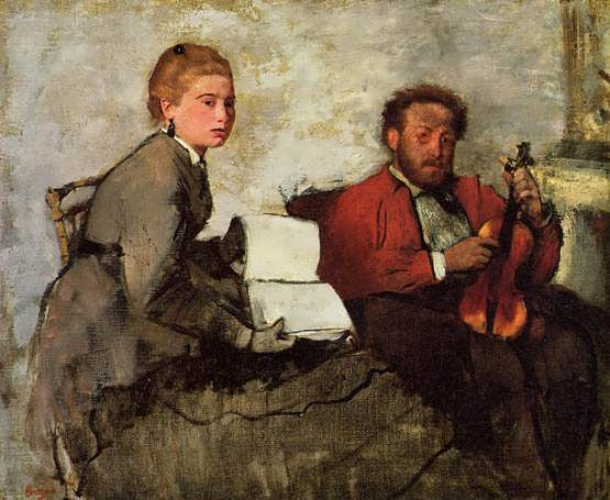 degas-ViolinistandYoungWoman