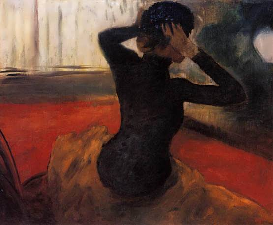 degas-WomanTryingonaHat