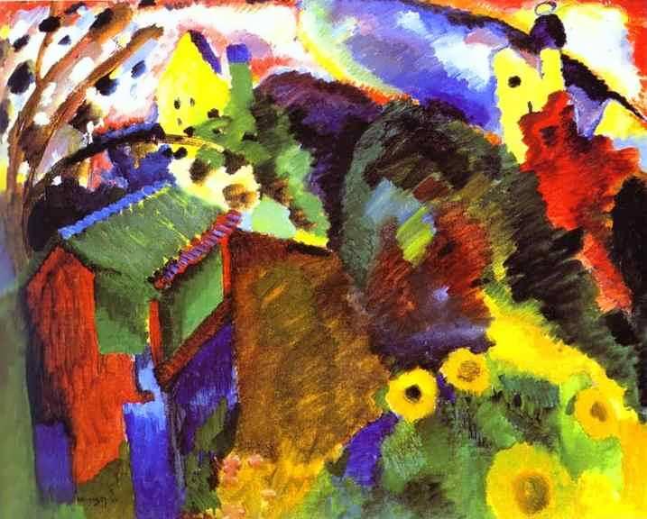 kandinsky-Murnau-GardenI