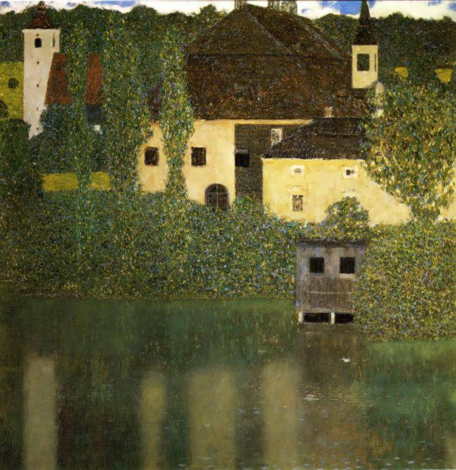 klimt-WaterCastle