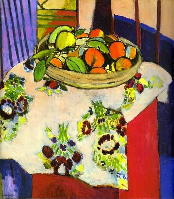 matisse-StillLifewithOranges