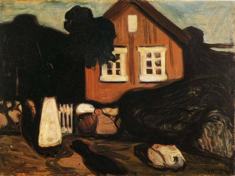 munch-HouseinMoonlightII