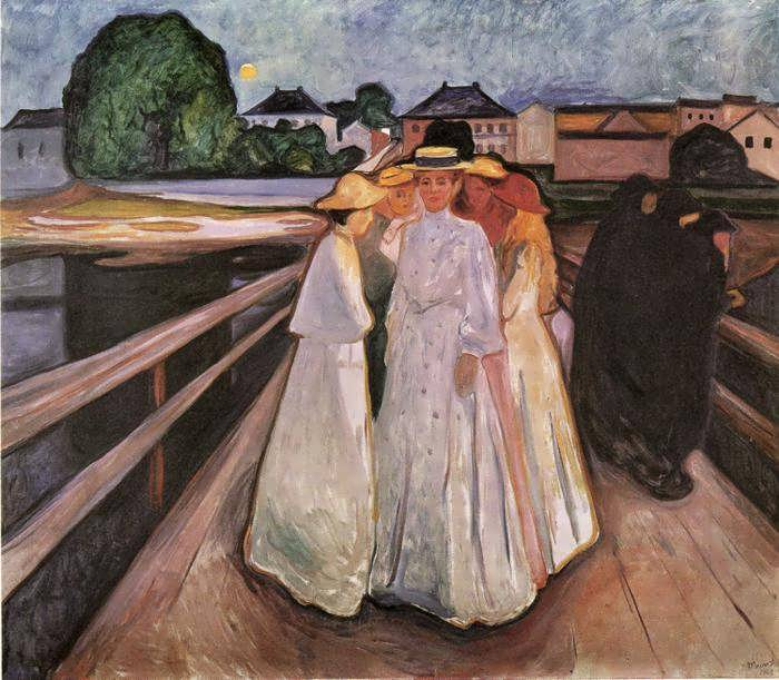 munch-TheLadiesontheBridge