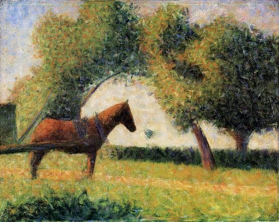 seurat-HorseandCart