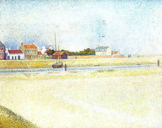 seurat-TheChannelatGravelinsGrand-Fort-Philippe